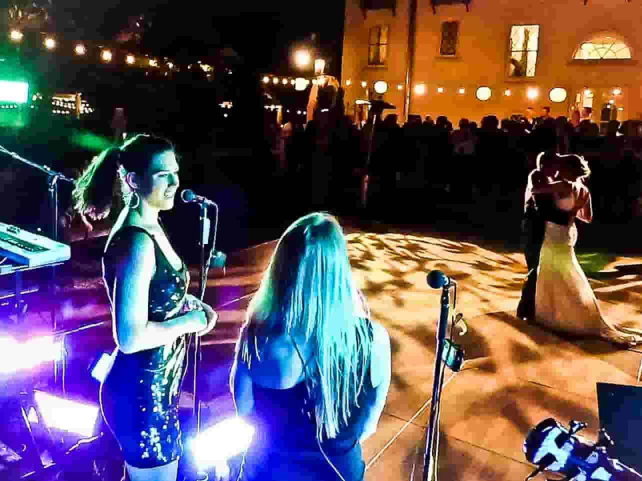 Bride and Groom dancing at a San Antonio wedding reception