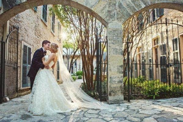 The San Antonio Riverwalk's wedding venue at the Southwest School of Art