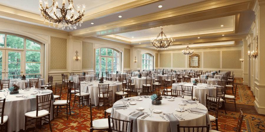 Hidalgo Ballroom at the Westin, perfect for intimate wedding receptions